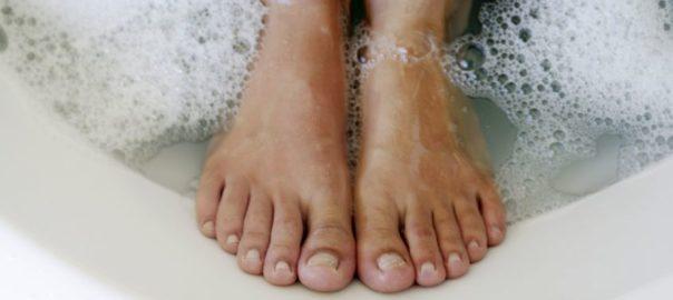 Borax für Haut und Körper Fußbad mit Magnesium